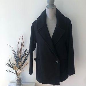 Babaton Wool/Cashmere Blend Coat